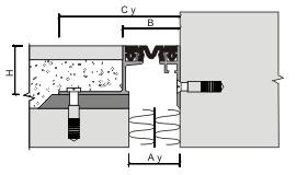 Монтаж углового профиля для деформационного шва ДШВ