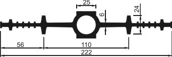 Гидрошпонка ДВ-220/25
