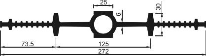 Гидрошпонка ДВ-270/25