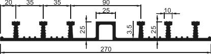 Гидрошпонка ДО-270