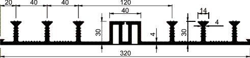 Гидрошпонка ДО-320