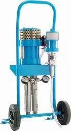 Насос пневматический инъекционный для акриловых гелей 2-компонентный