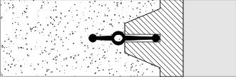 Монтаж гидроуплотнителя для швов  тип СВГ